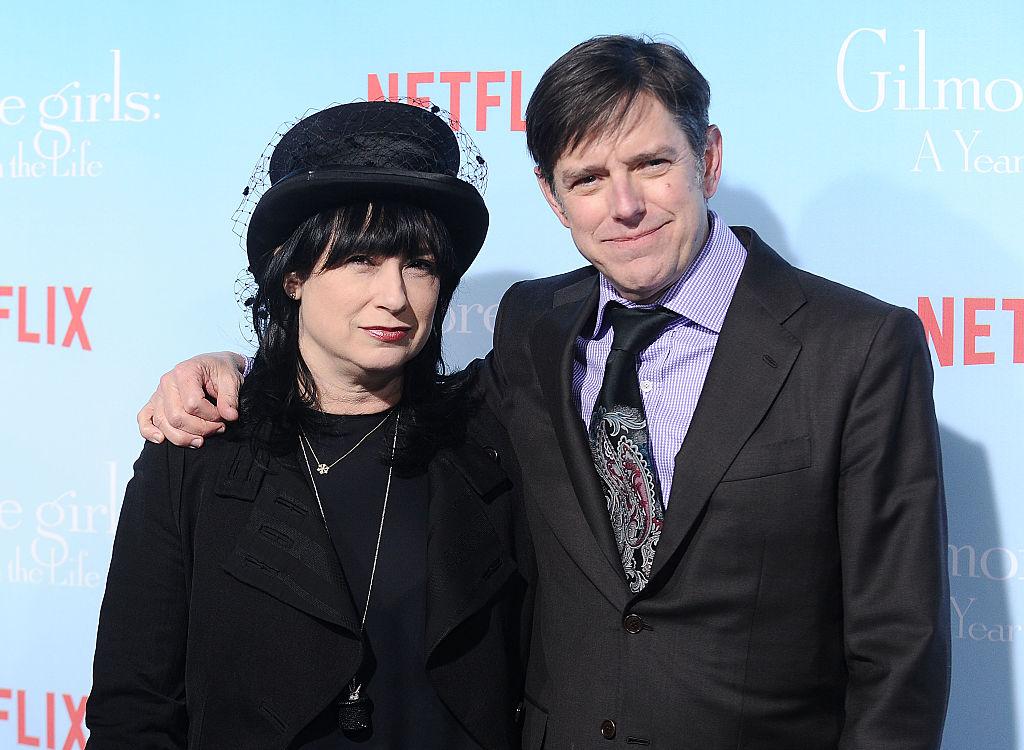 Gilmore Girls co creators Amy Sherman-Palladino and Daniel Palladino
