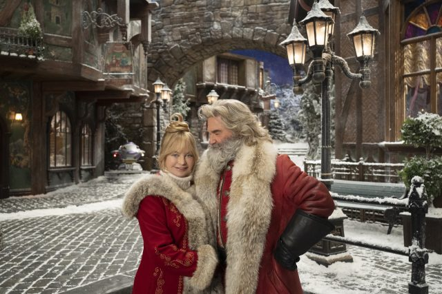 'Christmas Chronicles 2' Stars Kurt Russell and Goldie Hawn Had Big Ideas for Santa and Mrs. Claus in the Sequel