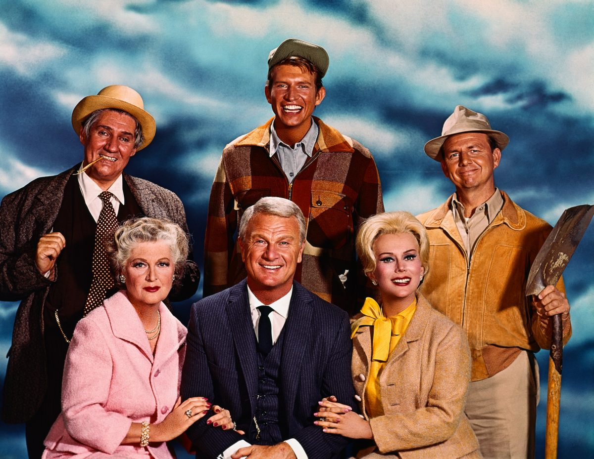 The cast of 'Green Acres'
