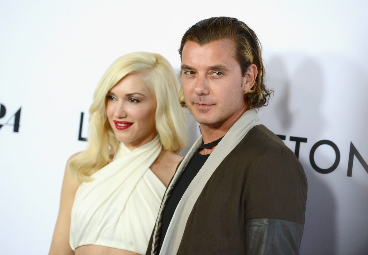 Gwen Stefani and Gavin Rossdale attend the premiere of 'The Bling Ring' in 2013