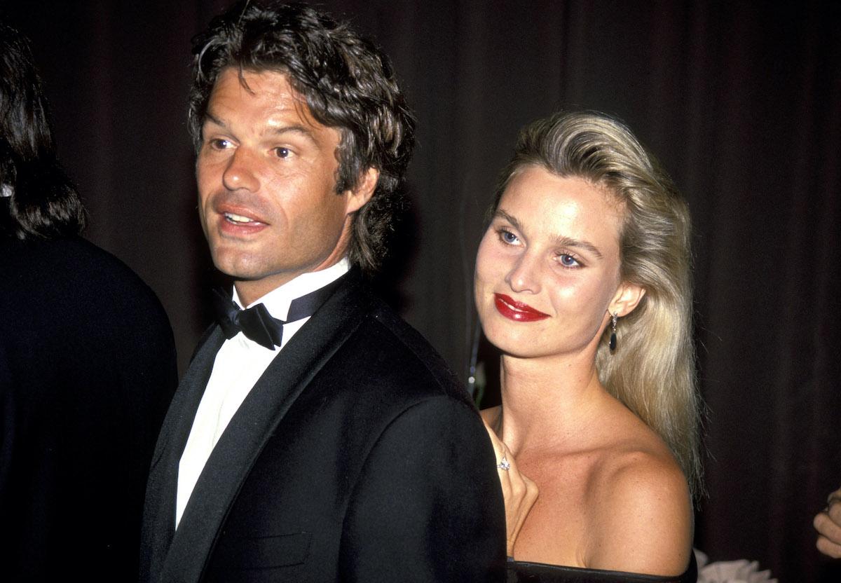 Harry Hamlin and Nicolette Sheridan