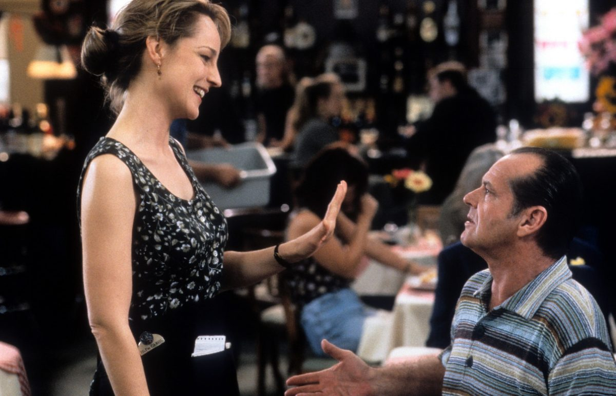 Helen Hunt and Jack Nicholson in 'As Good As It Gets'