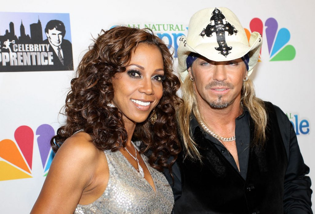 """Holly Robinson Peete and Bret Michaels attend """"The Celebrity Apprentice"""" Season 3 finale after party at the Trump SoHo on May 23, 2010 in New York City   Moises De Pena/FilmMagic"""