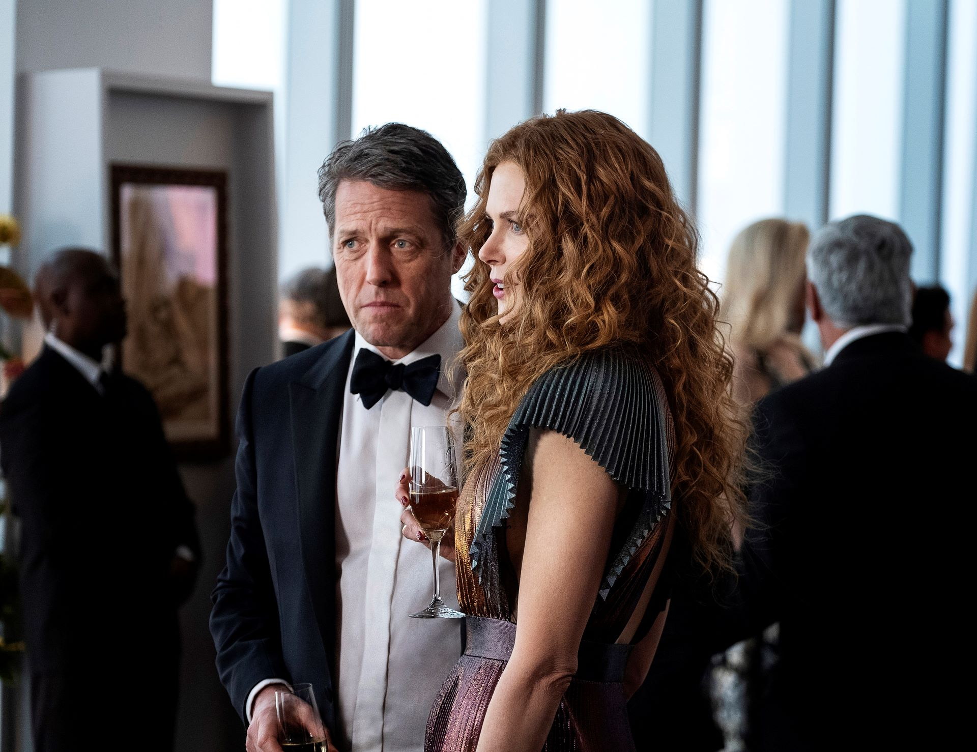 Hugh Grant and Nicole Kidman in 'The Undoing'