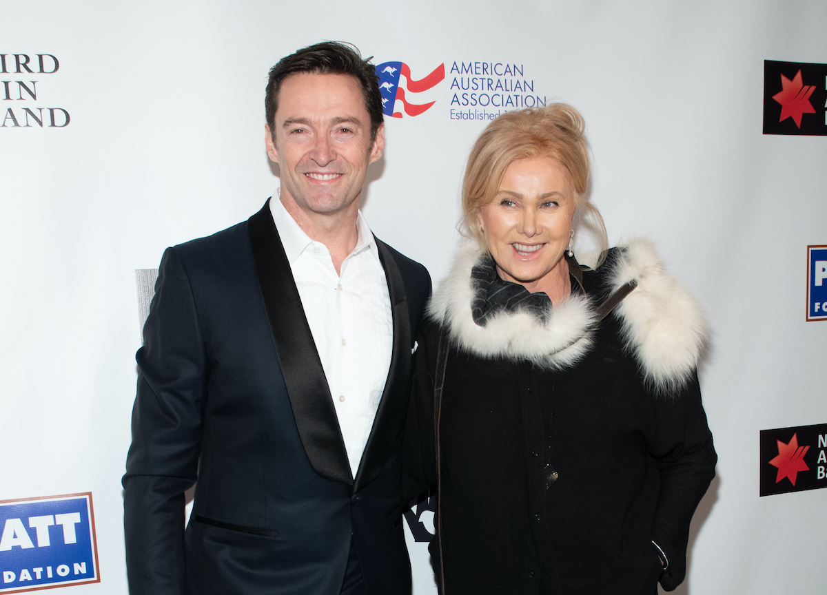 Hugh Jackman and Deborra-Lee Furness at the 2019 American Australian Arts Awards