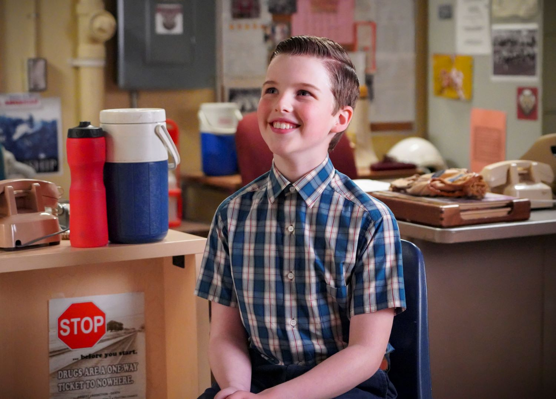 Iain Armitage in 'Young Sheldon'