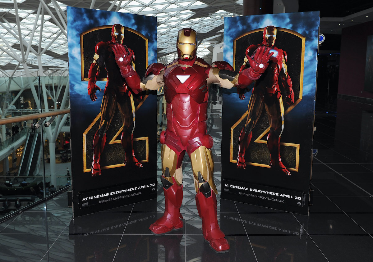 A general view of atmosphere at the 'Iron Man 2' VIP screening
