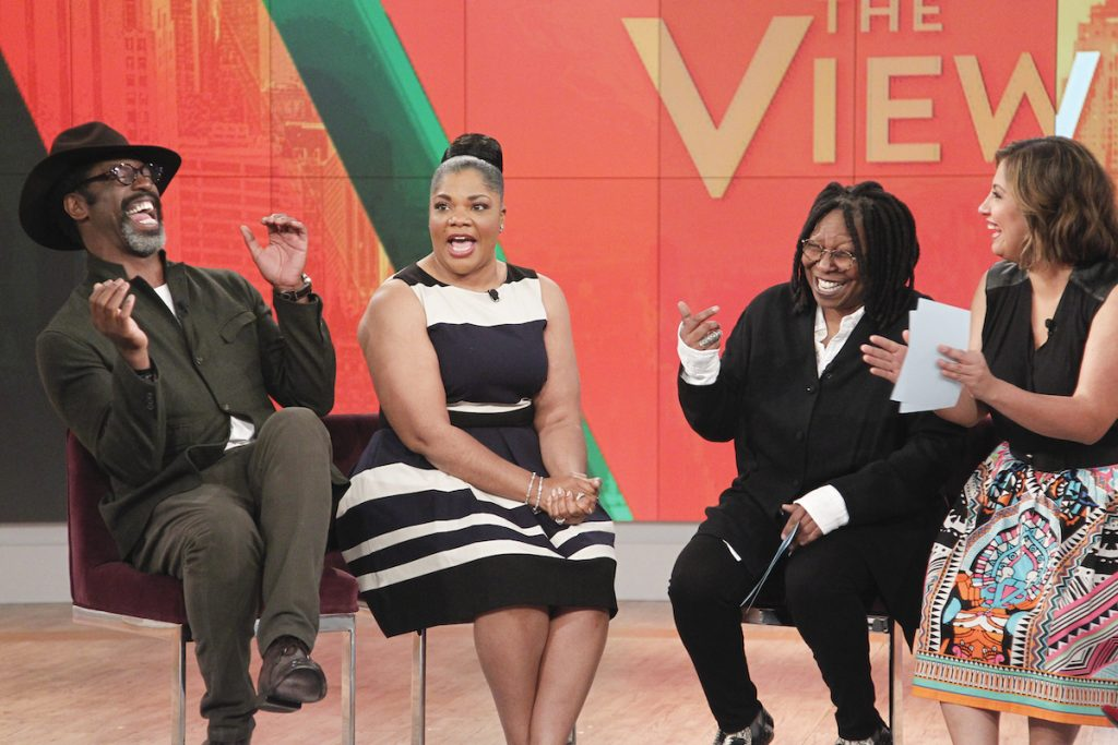 Isaiah Washington and Mo'Nique on 'The View'