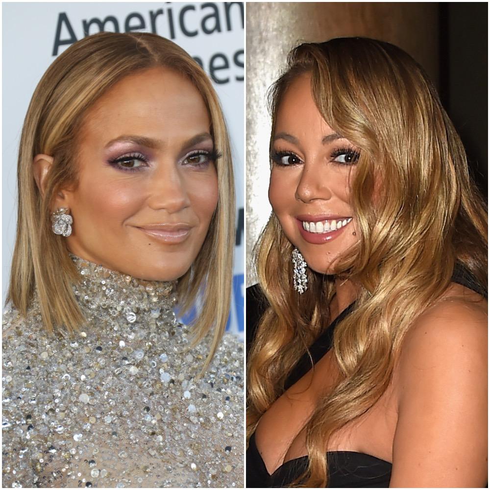 Jennifer Lopez and Mariah Carey
