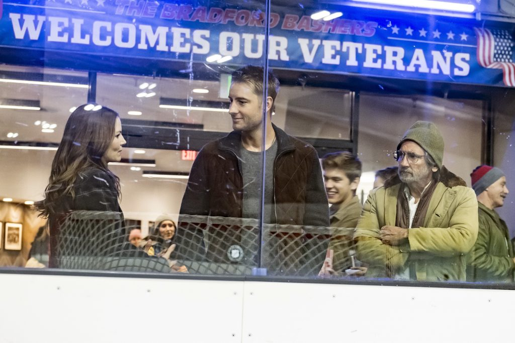 Jennifer Morrison as Cassidy, Justin Hartley as Kevin, Griffin Dunne as Nicky on 'This Is Us'
