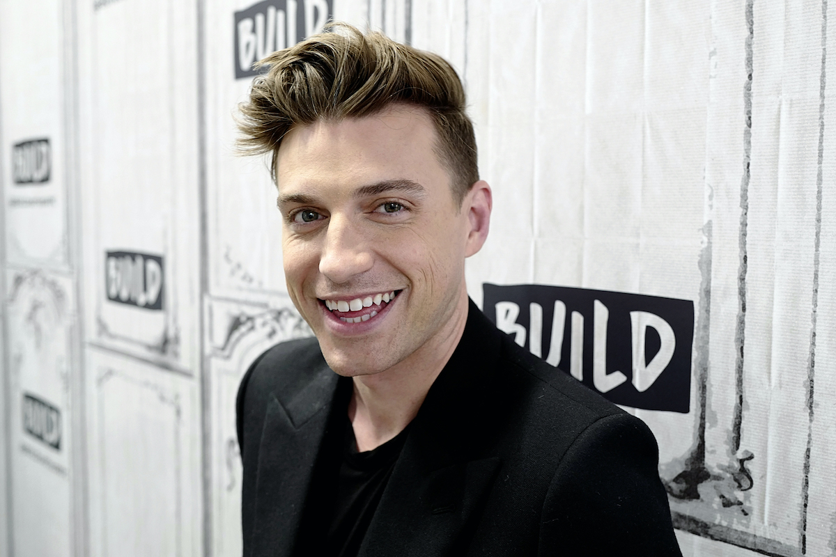 Jeremiah Brent attends the Build Series to discuss 'Nate & Jeremiah by Design'