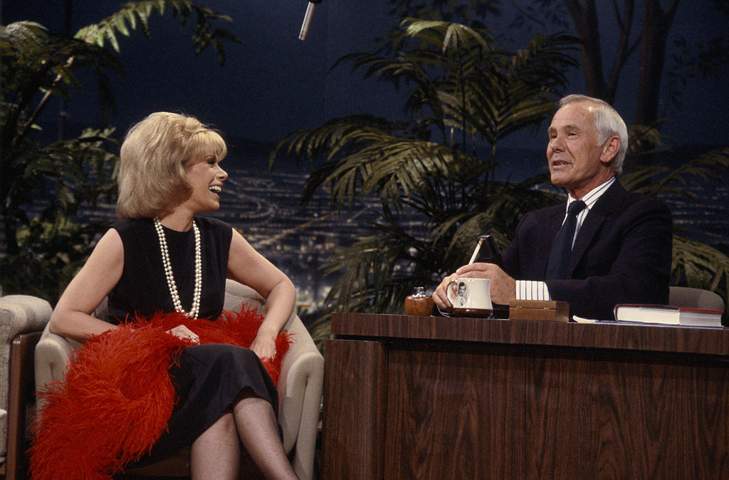 Joan Rivers on Johnny Carson