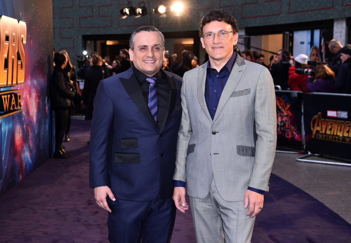 Joe Russo and Anthony Russo at an 'Avengers Infinity War' UK Fan Event
