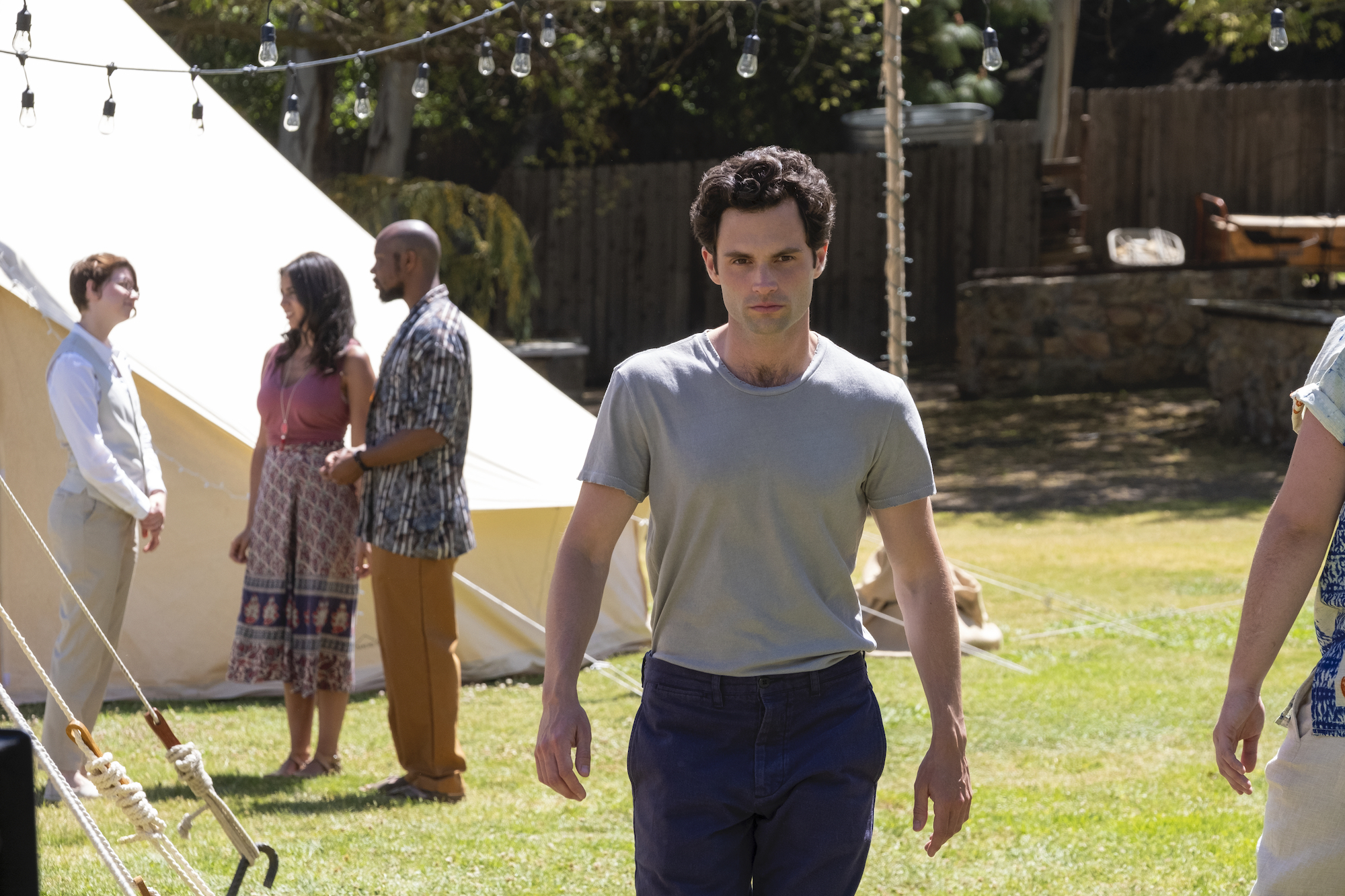Penn Badgley as Joe on You felt conflicted to play such a horrible character.