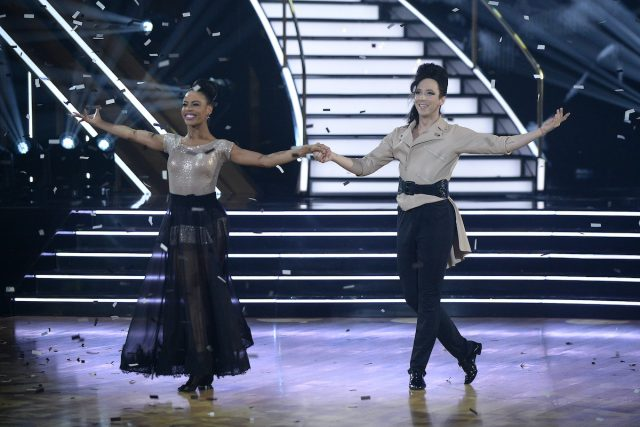 'Dancing With the Stars': Britt Stewart Doesn't Mind the Show Without Len Goodman