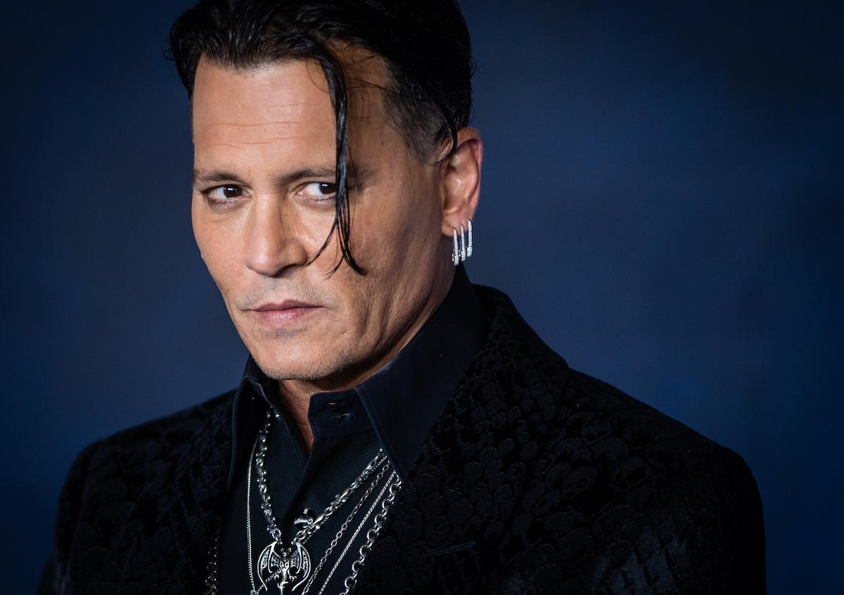 Johnny Depp at the UK Premiere of 'Fantastic Beasts: The Crimes Of Grindelwald'