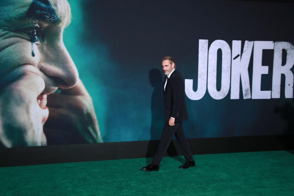 Joker premiere with Joaquin Phoenix