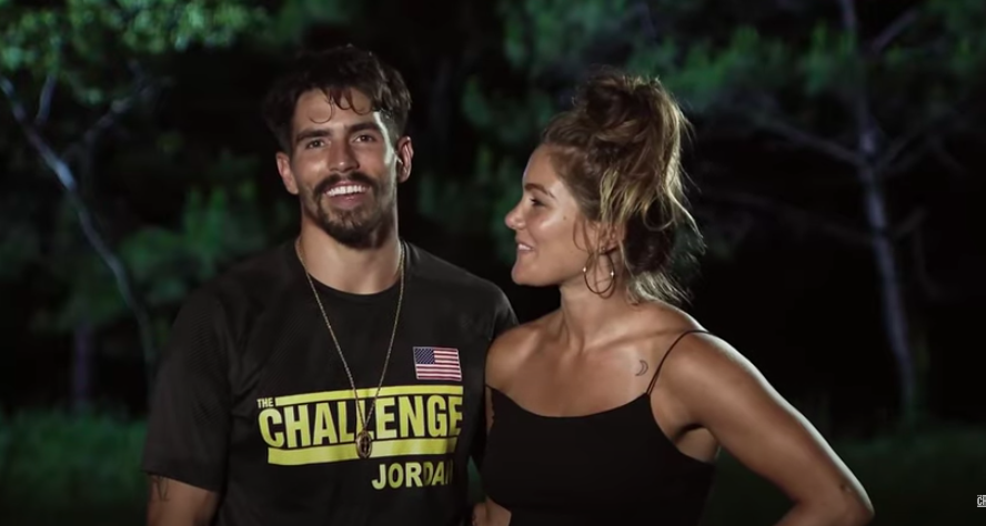 Jordan Wiseley and Tori Deal from 'The Challenge'