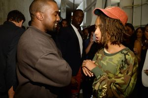 How Kanye West Influenced One of Jaden Smith's Albums