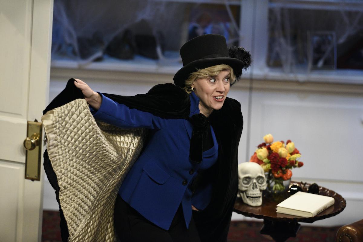 Kate McKinnon as Hillary Clinton on 'Saturday Night Live'