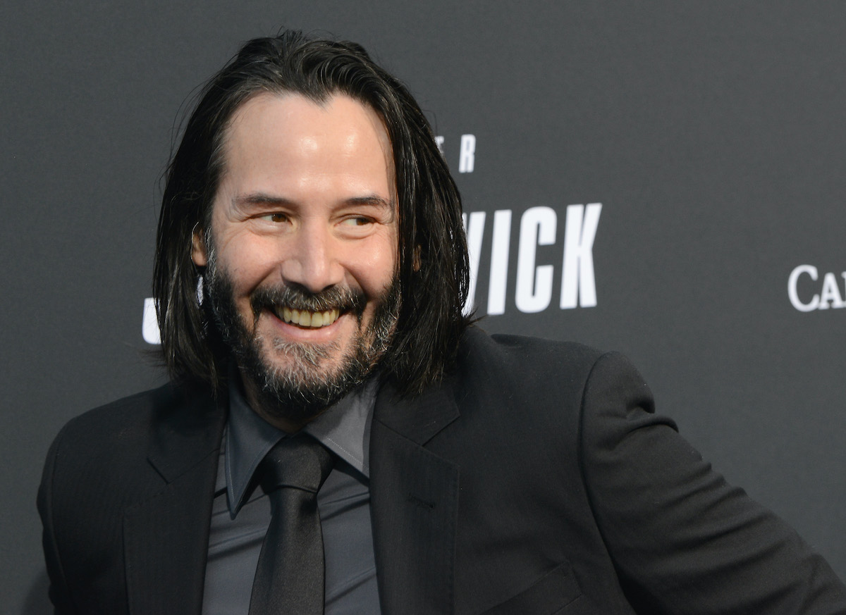 Keanu Reeves at a 'John Wick: Chapter 3 - Parabellum' screening