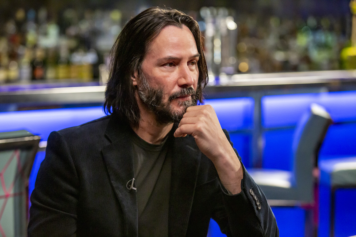 Keanu Reeves on 'Sunday Today with Willie Geist'