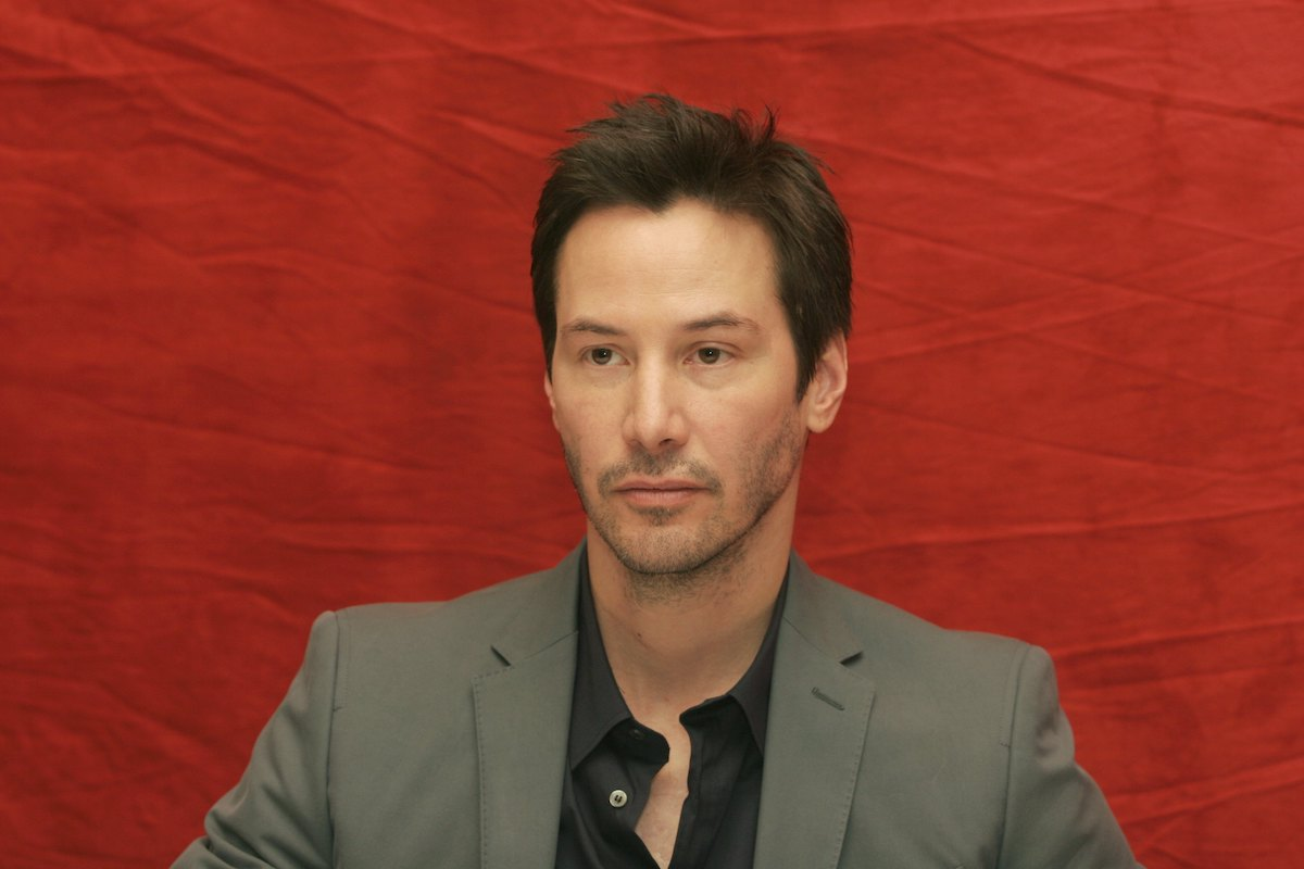 Keanu Reeves in 2008