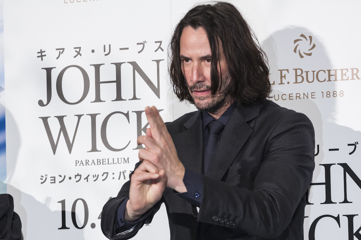Keanu Reeves at the premiere of 'John Wick: Chapter 3 - Parabellum' in Japan