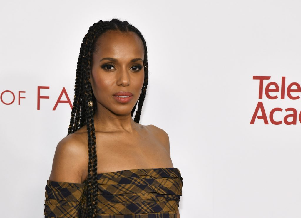 Kerry Washington attends the Television Academy's 25th Hall Of Fame Induction Ceremony at Saban Media Center on January 28, 2020
