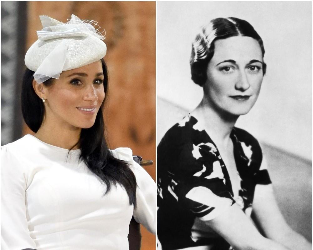 (L) Meghan Markle, (R) Wallis Simpson