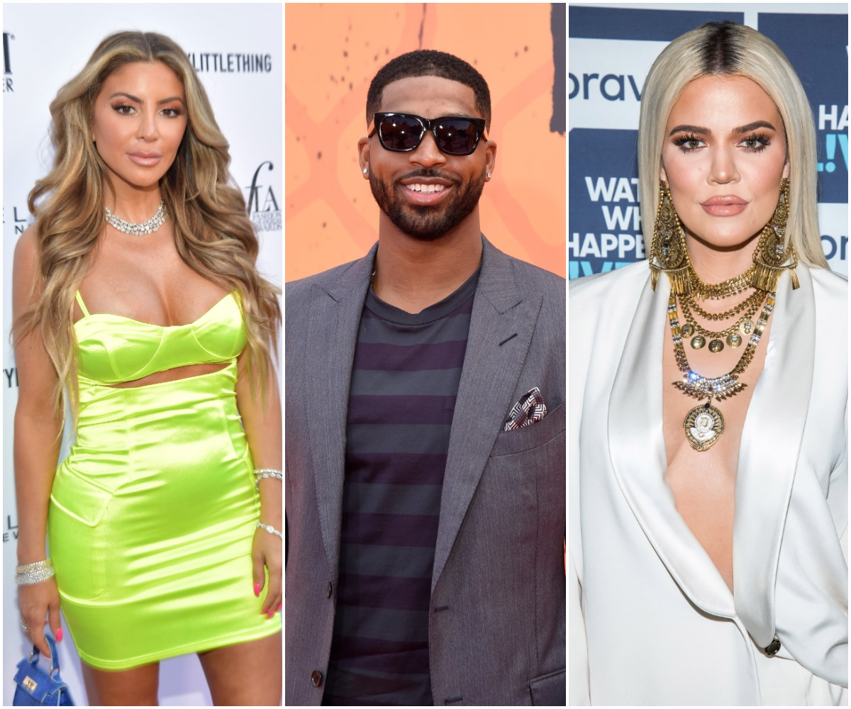 Larsa Pippen attends The Daily Front Row Fashion LA Awards 2019 on March 17, 2019 in Los Angeles, California. /NBA player Tristan Thompson attends the Nickelodeon Kids' Choice Sports Awards 2016 at UCLA's Pauley Pavilion on July 14, 2016 in Westwood, California. /WATCH WHAT HAPPENS LIVE WITH ANDY COHEN -- Pictured: Khloe Kardashian