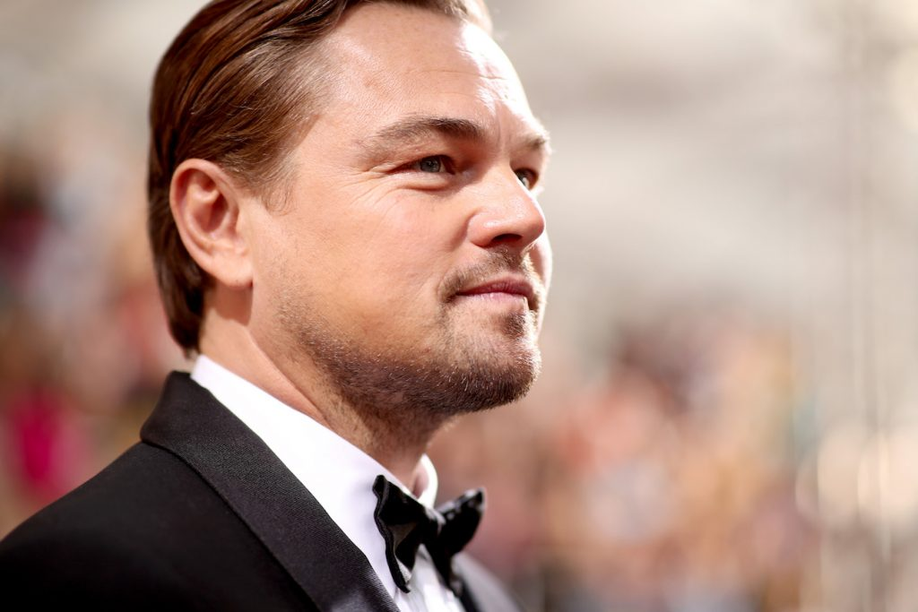 Leonardo DiCaprio arrives to the 77th Annual Golden Globe Awards held at the Beverly Hilton Hotel