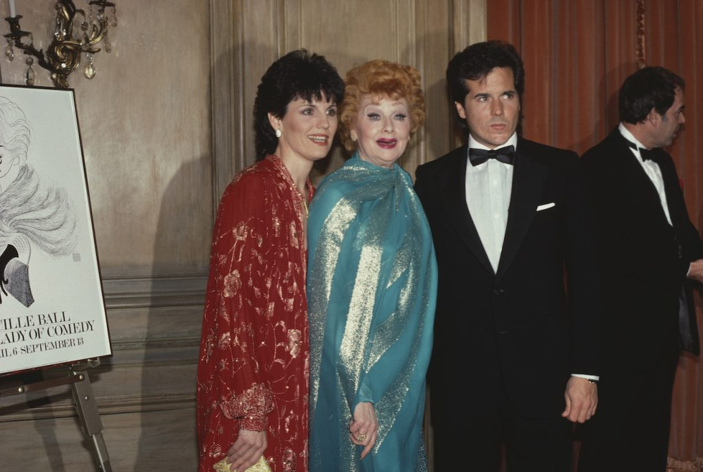 Lucie Arnaz, Lucille Ball, and Desi Arnaz Jr.