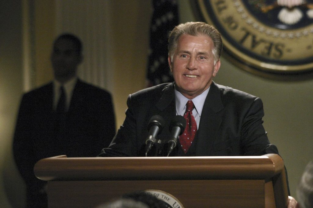 Martin Sheen in 'The West Wing.'