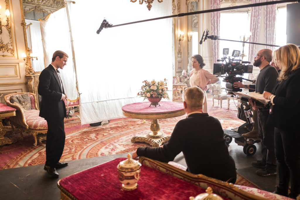 Matt Smith and Claire Foy in 'The Crown' Season 2