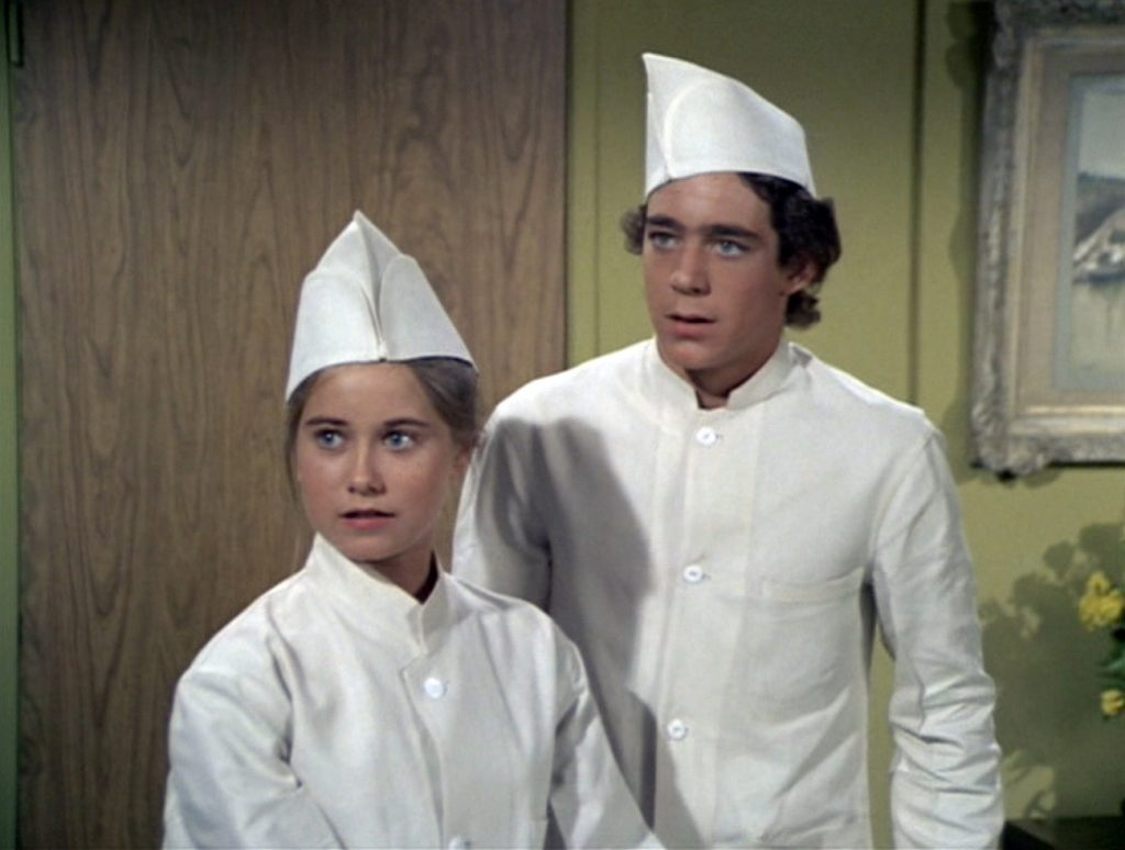 Maureen McCormick and Barry Williams of 'The Brady Bunch'