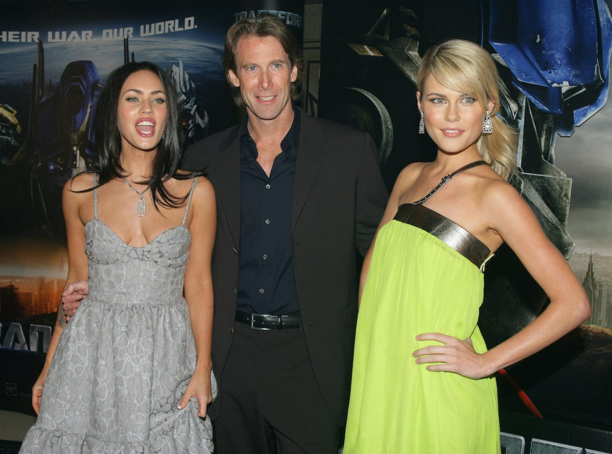 Megan Fox, Michael Bay and Rachael Taylor