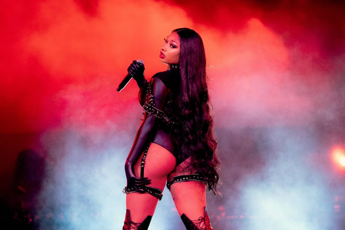 """Megan Thee Stallion performs onstage during Day 2 of """"Red Rocks Unpaused"""" 3-Day Music Festival presented by Visible at Red Rocks Amphitheatre on September 02, 2020 in Morrison, Colorado."""