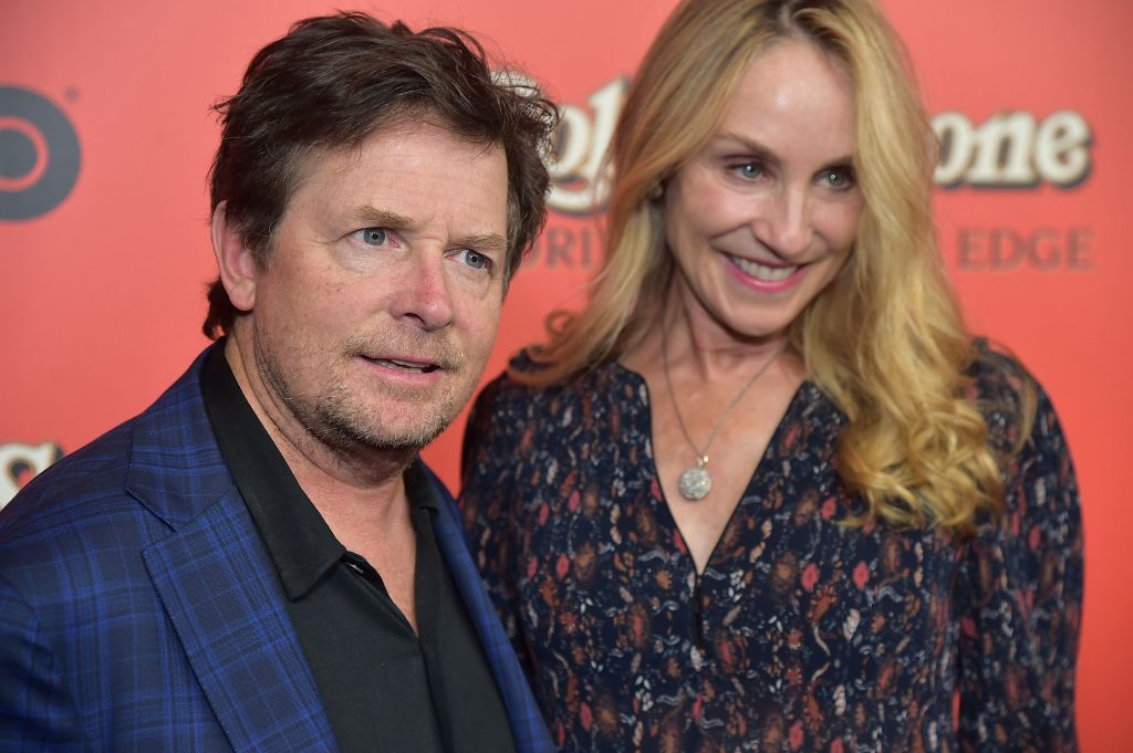 Michael J Fox and Tracy Pollan   Theo Wargo/Getty Images