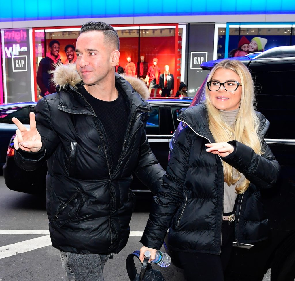 Mike 'The Situation' Sorrentino and Lauren Sorrentino