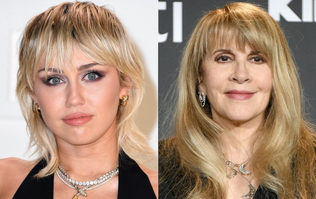 Miley Cyrus (left) and Stevie Nicks (right) | Steve Granitz/WireImage/Dia Dipasupil/FilmMagic/Getty Images