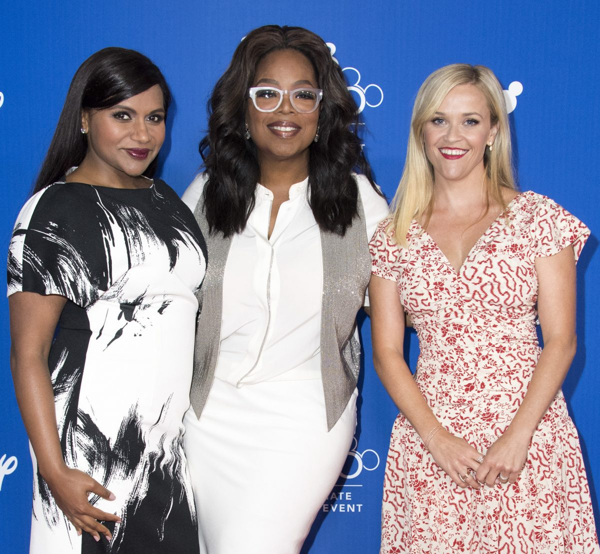 Minsy Kaling, Oprah Winfrey, and Reese Witherspoon