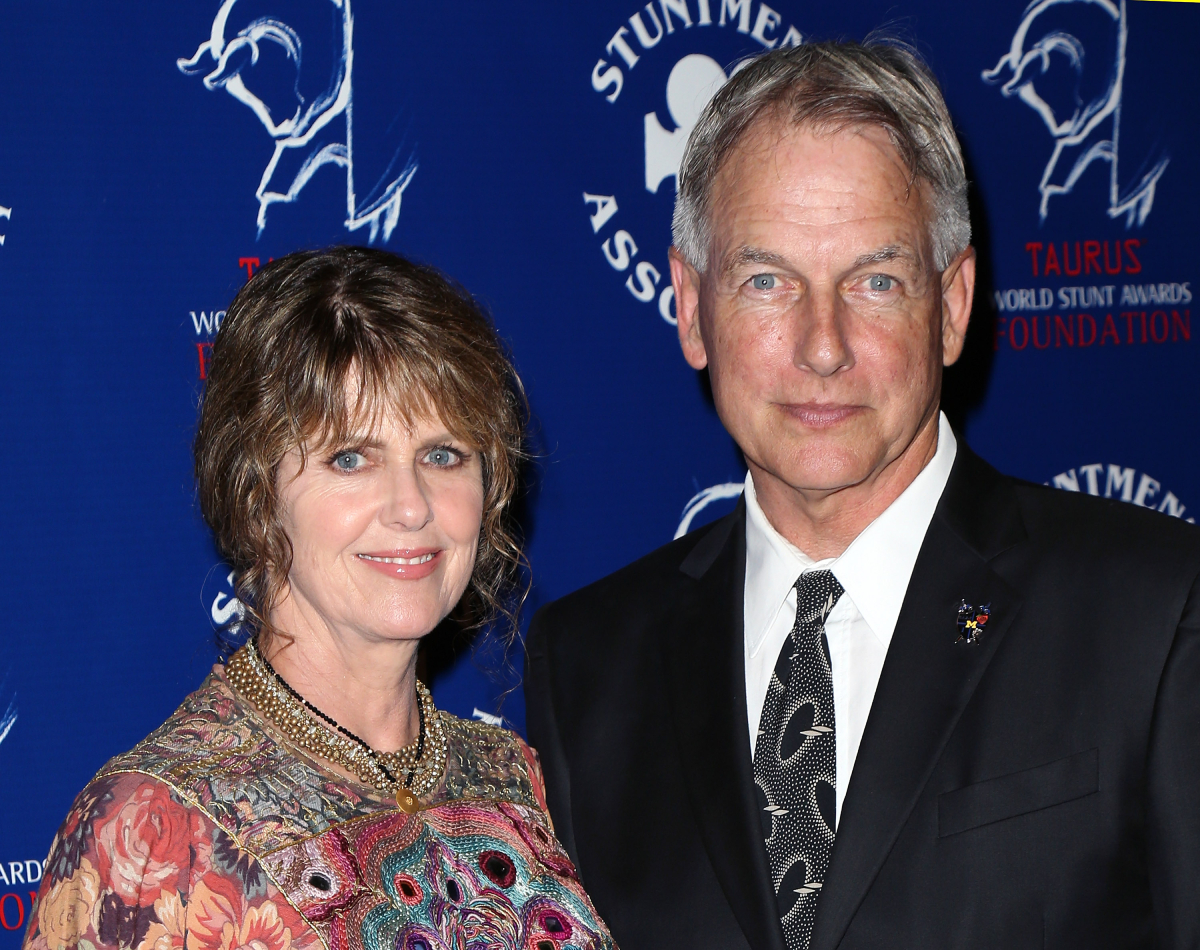 NCIS star Mark Harmon with his wife Pam Dawber in 2013