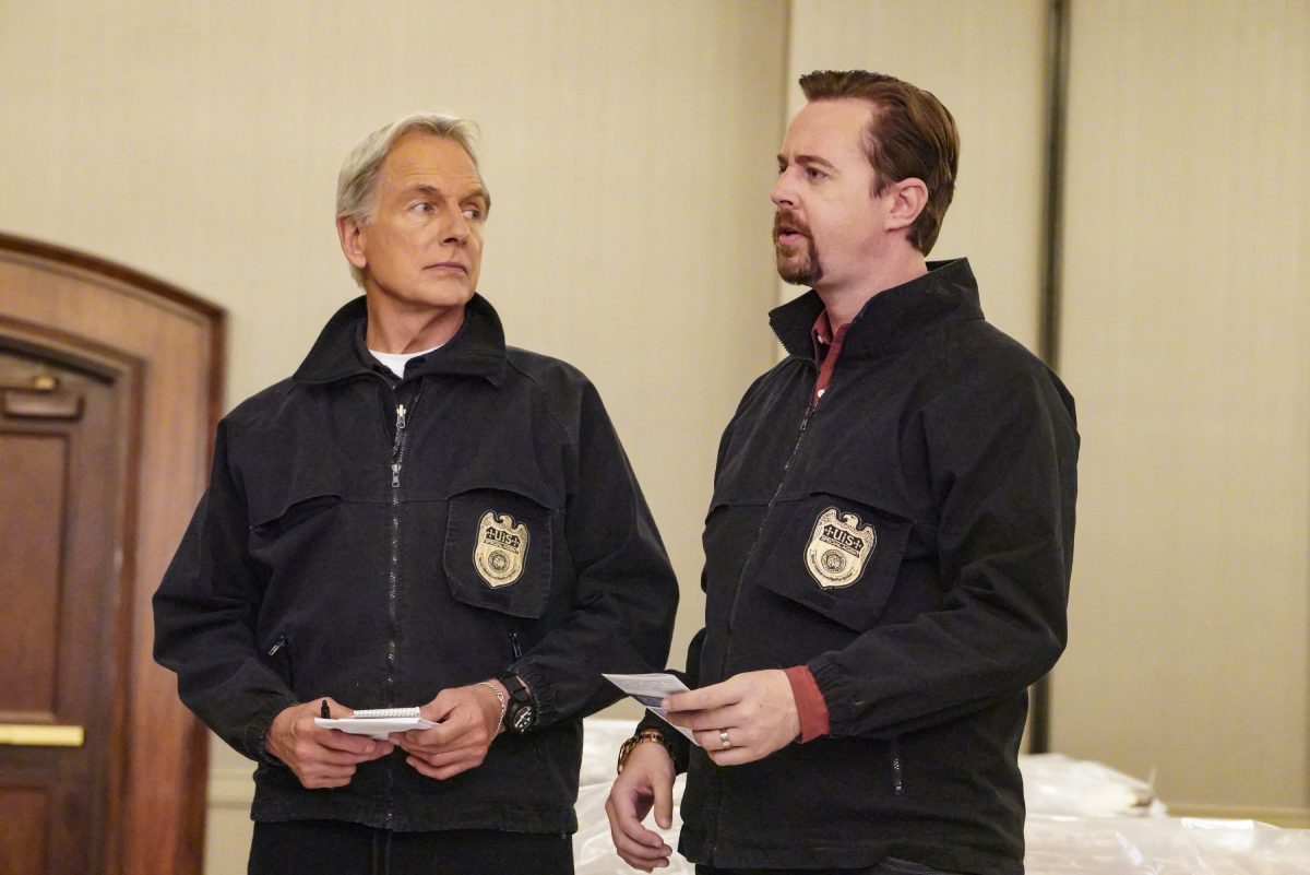 NCIS Mark Harmon Sean Murray