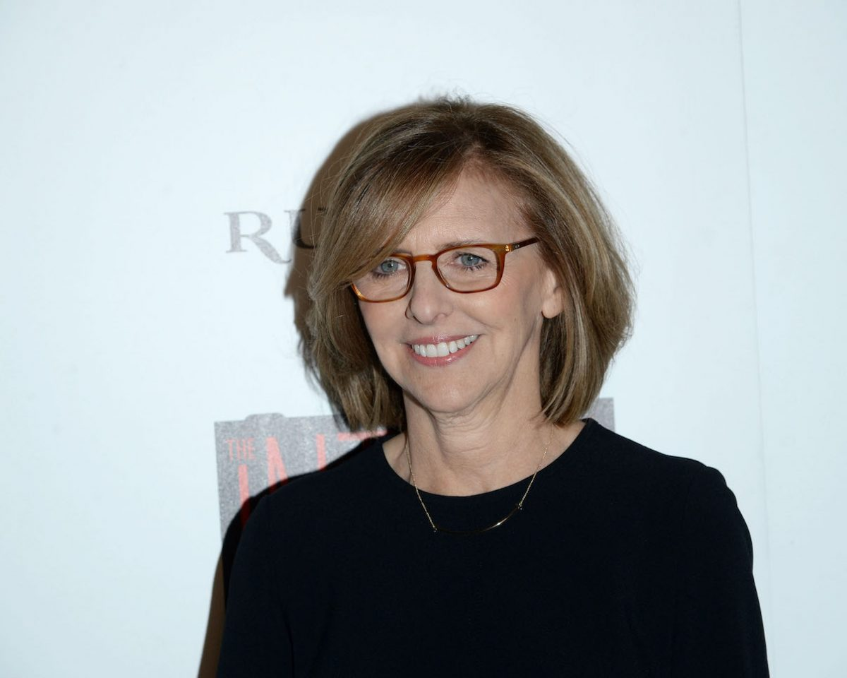 Nancy Meyers at a screening of 'The Intern'
