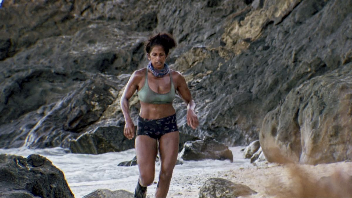 Natalie Anderson on the two-hour Thirteenth episode of 'Survivor: Winners at War'