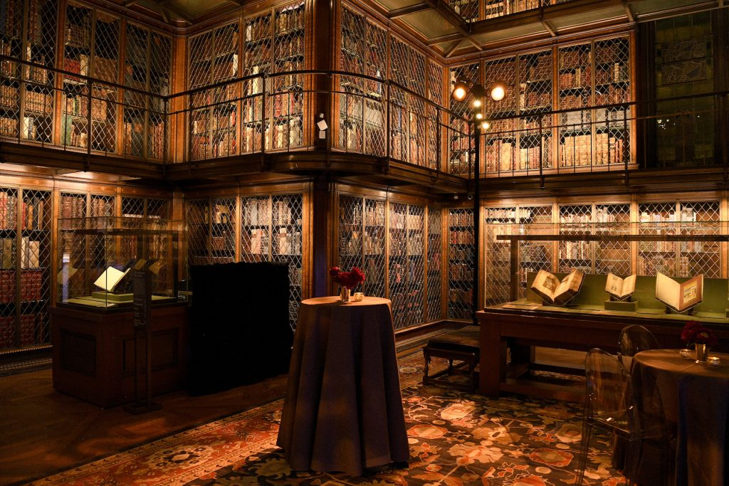 A view of the Morgan Library