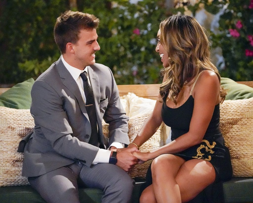 'The Bachelorette' Tayshia Adams and Noah