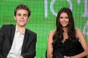 'The Vampire Diaries:' Paul Wesley and Nina Dobrev Just Joked That Justin Bieber Is Their Love Child