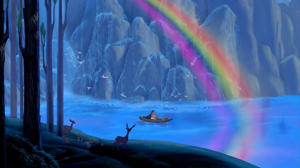 Disney Junior's 'A Poem Is...' Featuring the Character, Pocahontas
